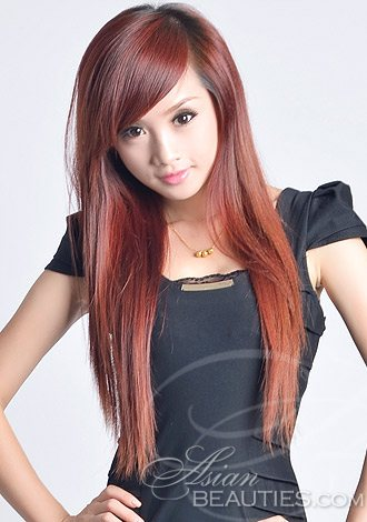 hair red Asian